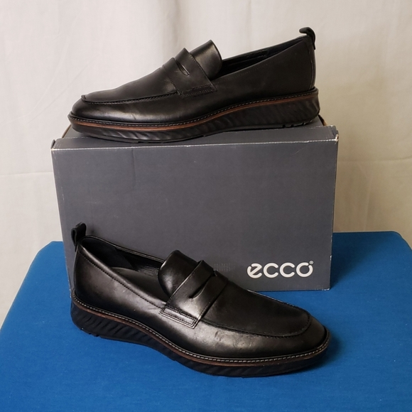 Ecco St1 Hybrid Penny Loafers(BFPM-04-136)